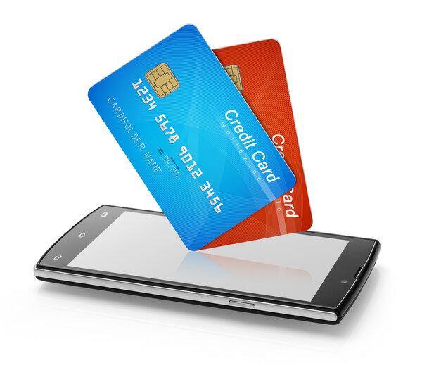 Att jämföra kreditkort.